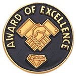 AWARD OF EXCELLENCE PIN