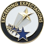 EXCEEDING EXPECTATIONS PIN