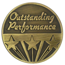 OUTSTANDING PERFORMANCE PIN