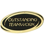 OUTSTANDING TEAMWORK PIN