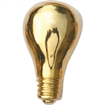GOLD LIGHT BULB PIN