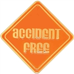 ACCIDENT FREE PIN