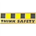THINK SAFETY BAR PIN