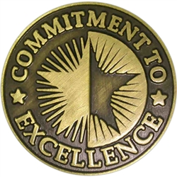 COMMITMENT TO EXCELLENCE PIN
