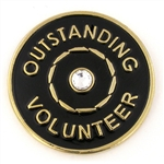 OUTSTANDING VOLUNTEER PIN