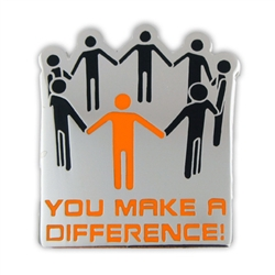 YOU MAKE A DIFFERENCE PIN