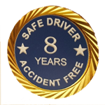 Safe Driver Pin/Accident Free Years pin