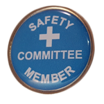 Safety Committee Member pin