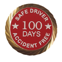 Safe Driver Pin/Accident Free Days pin