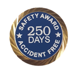 Safety Award/Accident Free Days pin