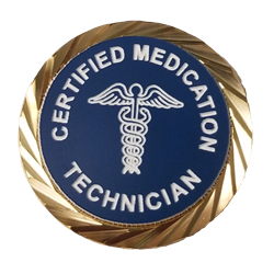 Certified Medication Technician Lapel Pin