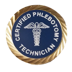 Certified Phlebotomy Technician Lapel Pin