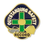 Outstanding Safety Record Pin