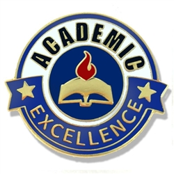 Academic Excellence Pin