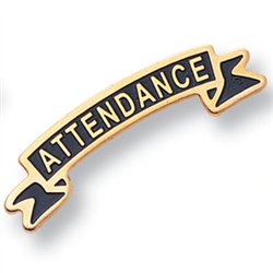 ATTENDANCE RIBBON PIN