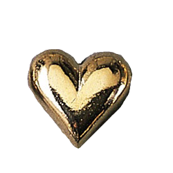 GOLD HEART PIN