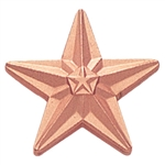 BRONZE STAR PIN