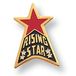 RISING STAR PIN