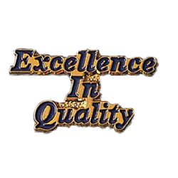 EXCELLENCE IN QUALITY PIN