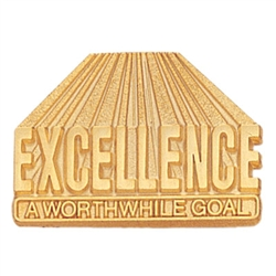 EXCELLENCE GOAL  PIN