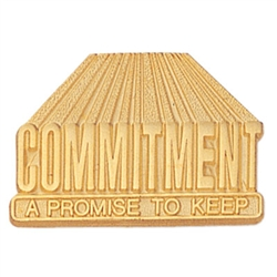 COMMITMENT PROMISE PIN