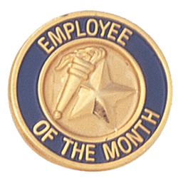 EMPLOYEE OF THE MONTH LAPEL PIN
