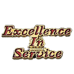 EXCELLENCE IN SERVICE PIN