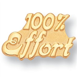 100% EFFORT PIN