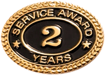 2 YEARS SERVICE AWARD PIN