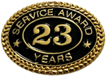 23 YEARS SERVICE AWARD PIN