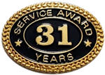 31 YEARS SERVICE AWARD PIN