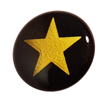 SELF ADHESIVE GOLD STAR AWARD