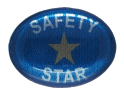 SAFETY STAR STICKER