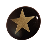 SELF ADHESIVE SILVER STAR AWARD