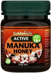Golden Hills Manuka Honey 16+ 250g