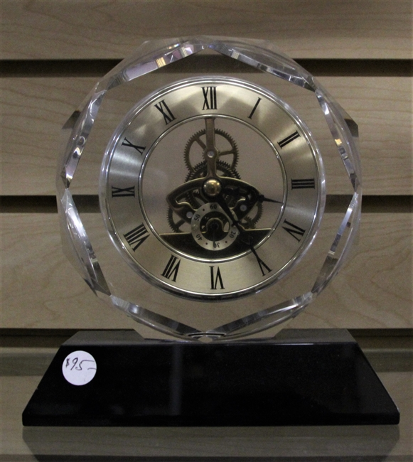 Gear Desk Clock w/ plate