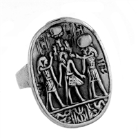Crowning of King Tut Ring - Small