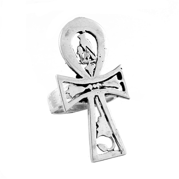 Horus Ankh Ring - Small