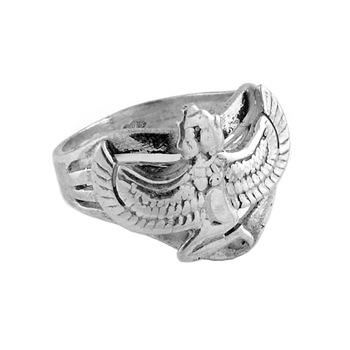 Winged Iisis Ring