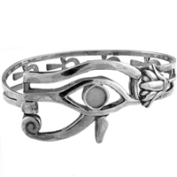 Eye of Horus Bangle