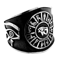 Zodiac Eye of Horus Bangle