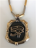 Eye of Horus  with Stainless Steel Chain