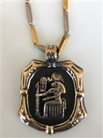 Sekhmet   With Stainless Steel Chain