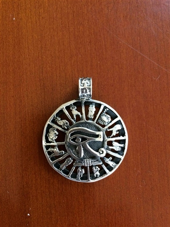 Eye of Horus Filigree pendant