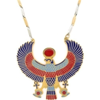 Egyptian Jewelry Horus Pendant with Chain