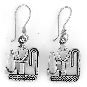 Ankh Earrings - Large