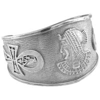 Cleopatra & Horus Ankh Bangle