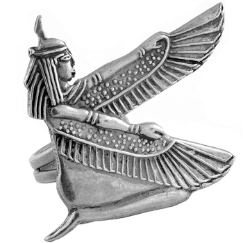 Winged Isis Ring