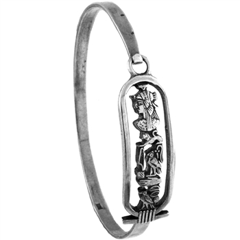 Cleopatra Cartouche Bangle