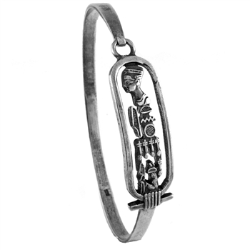 Nefertit Cartouche Bangle
